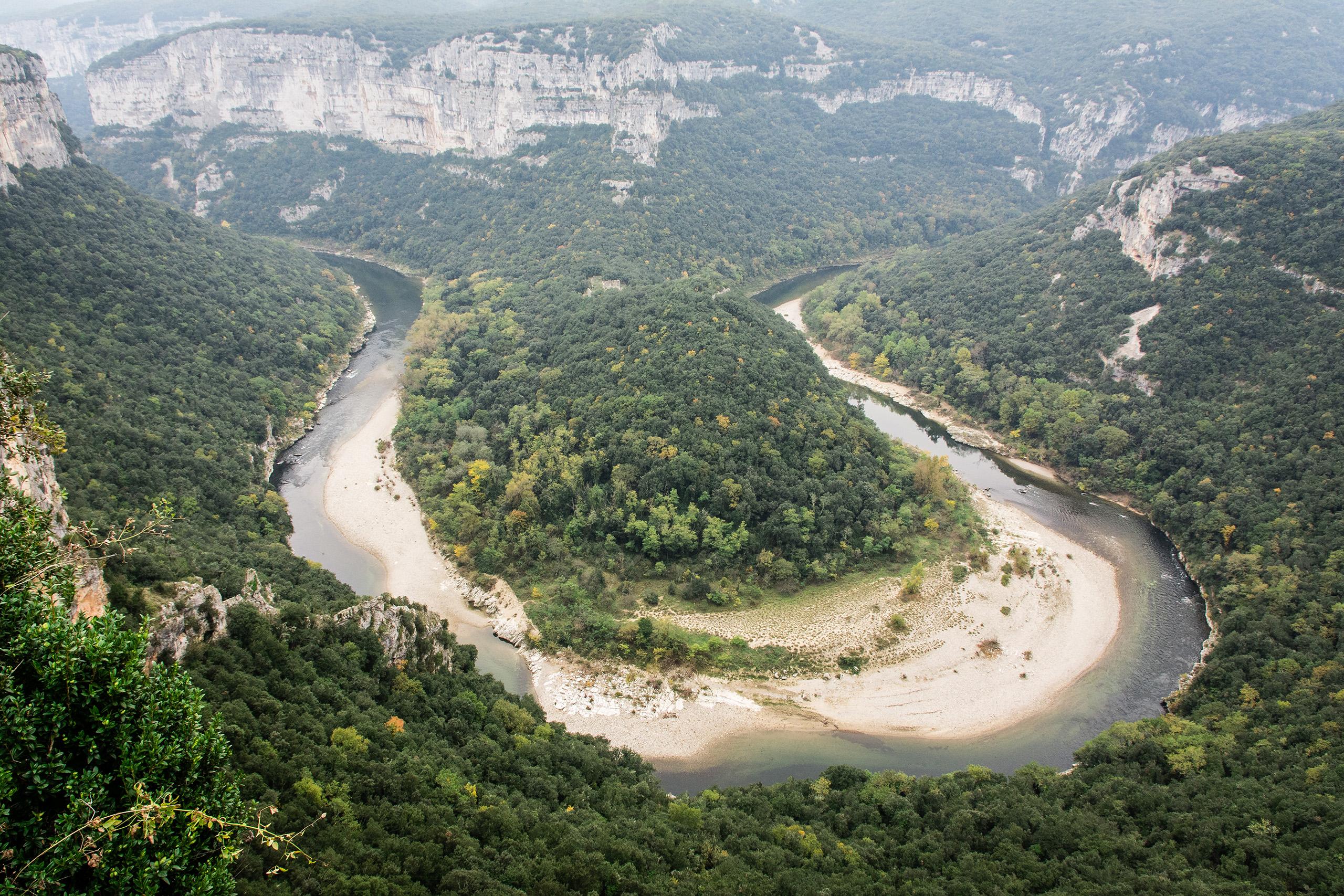 Route touristique des gorges de l'Ardèche – Balcons des Templiers